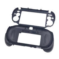 Matte Hand Grip Handle Joypad Stand Case with L2 R2 Trigger Button For PSV1000 PSV 1000 PS VITA 1000 Game Console Black