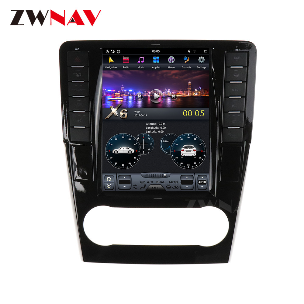Android 9 Tesla IPS Screen Car Multimedia Player For Mercedes Benz ML W164 W300 ML350 ML450 ML500 GL X164 G320 GL350 GL450 GL500 image