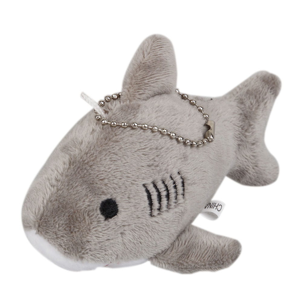 <font><b>Plush</b></font> Keychains Shark <font><b>Plush</b></font> Stuffed <font><b>TOY</b></font> Doll Mini Small Ocean Animal <font><b>Key</b></font> <font><b>chain</b></font> Pendant <font><b>Plush</b></font> <font><b>Toys</b></font> BABY Gift <font><b>Plush</b></font> DOLL kids image