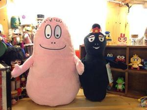 Оригинальные Редкие большие Barbapapa Barbamama, мягкие набивные из аниме плюшевые игрушки, кукла, подарок на день рождения, детский подарок, Огранич...