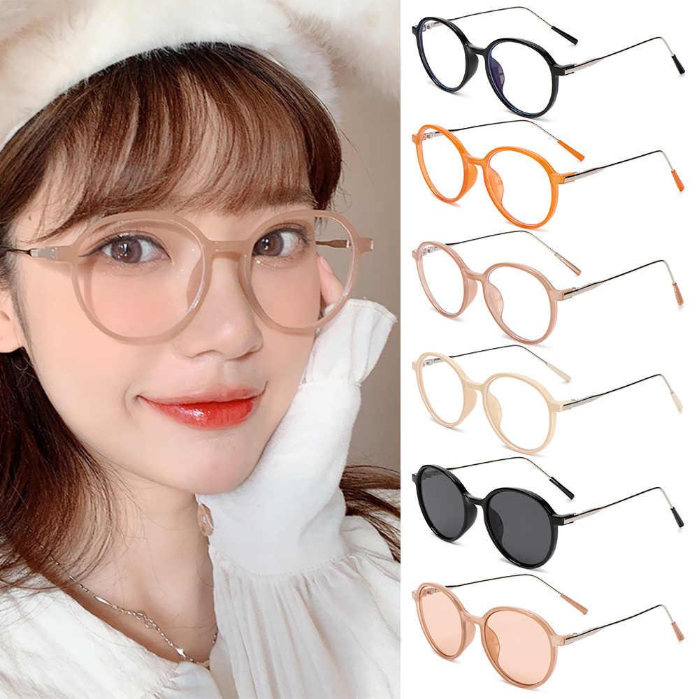 Montatura Per Occhiali Da Vista In Metallo Anti Occhi Di Gatto Blu Donna Vintage Tr90 Occhiali Da Vista Per Computer Trasparenti Montature Per Occhiali Da Vista