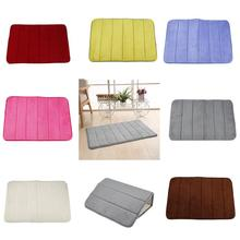 Memory Foam Non Slip Bath Mat Toilet Floor Rug Non Slip Rubber Backing Non Slip Absorbent Home Washable Bath Mat cheap Bath Rug Other geometric Eco-Friendly Stocked Modern Machine Made Bathroom Water absorption Bathroom livingroom kitchen Bedroom