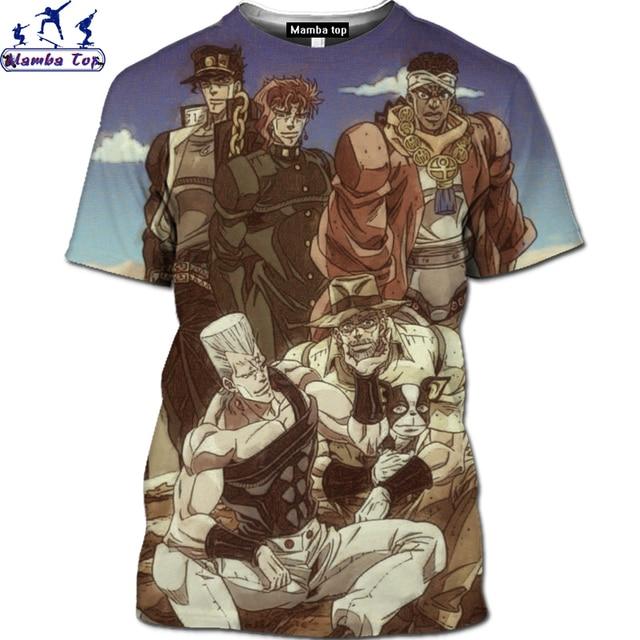 Mamba Anime JoJo Shirt