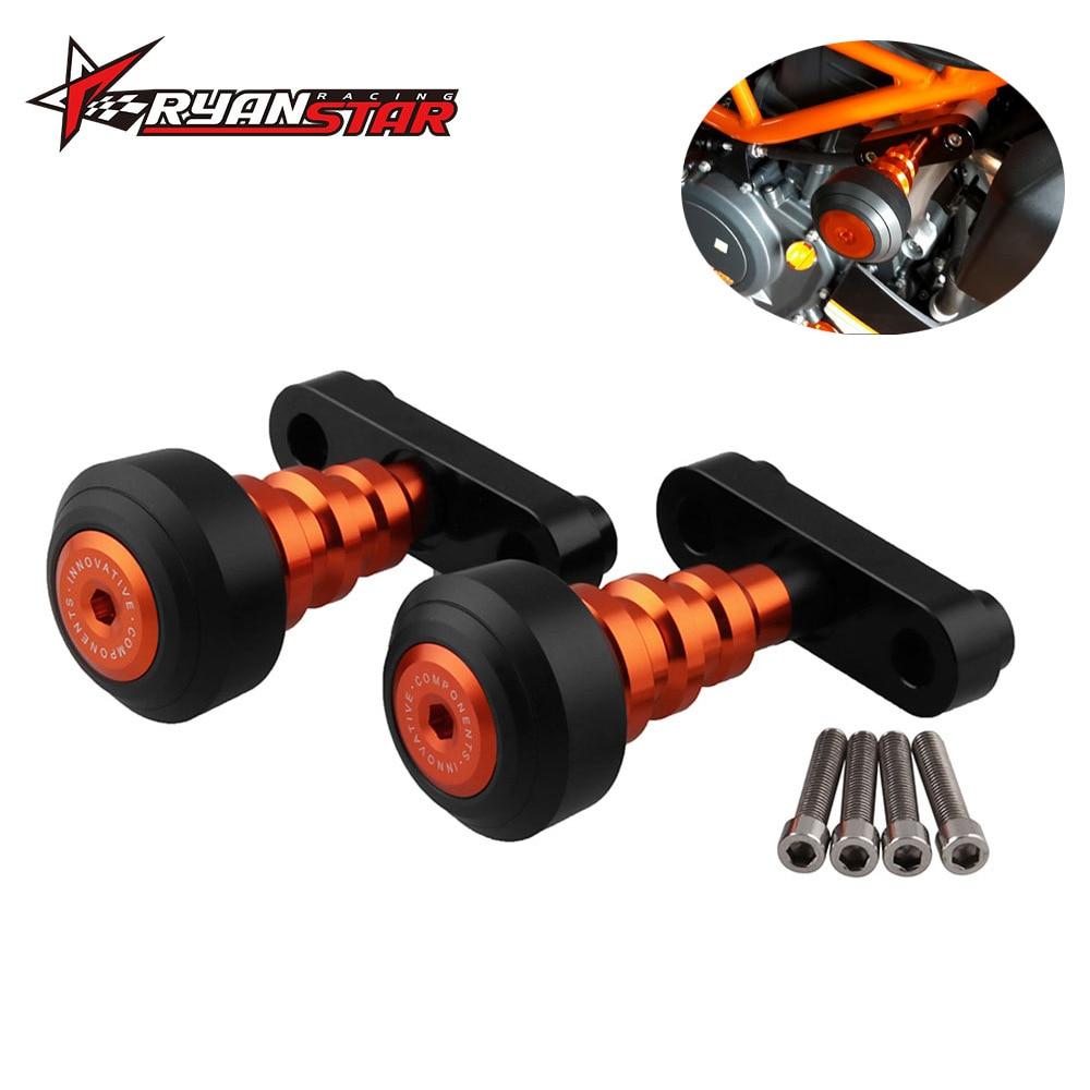 Motorcycle Refit Accessories Car Body Schock-resistant Stick KTM DUKE125 200 390CNC Slider Collision Defender