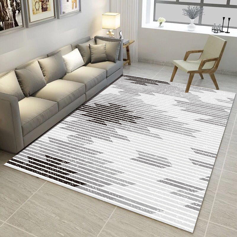 Living Room/bedroom Rug Antiskid Soft 150cm * 200 Cm Carpet Modern Carpet Mat Purpule White Pink Gray 23 Color Modern Geometric