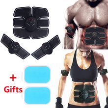 EMS Electro Muscle Stimulation Abdominal Trainer Stimulator Abdomen Electrostimulation Arm Body Building Exercise