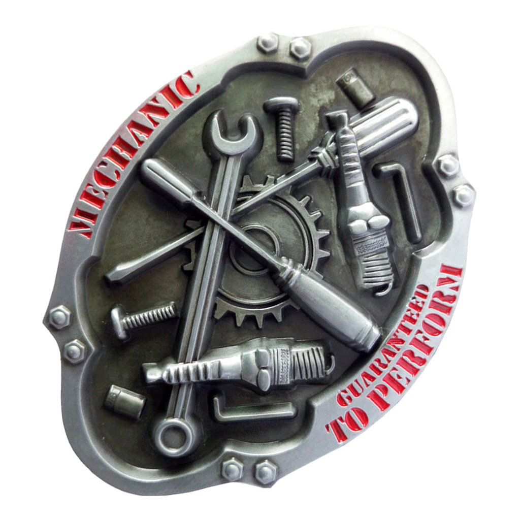 Mens' Belt Buckle Buckle Suitable For 3.6-3.9cm Belt Men Carpenter Mechanic Cowboy And Cowgirl Metal Tool Western Buckles