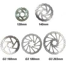 1 шт велосипед горный велосипед резьбовые втулки диск тормозной ротор 6 Болт Фланцевый Адаптер 120/140/160/180/203 мм G3 HS1 R9 ротора
