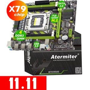 Image 1 - Atermiter X79  X79G Motherboard LGA 2011 USB2.0 SATA3 Support REG ECC Memory and Xeon E5 Processor 4DDR3