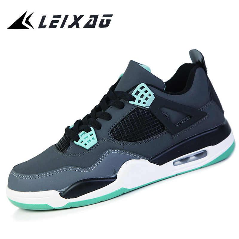 LEIXAGผู้ชายและสตรีรองเท้าบาสเก็ตบอลBreathable Jordanรองเท้าผู้ชายบาสเกตบอลกีฬารองเท้าฤดูใบไม้ร่วงกลางแจ้งตะกร้าHomme Zapatos