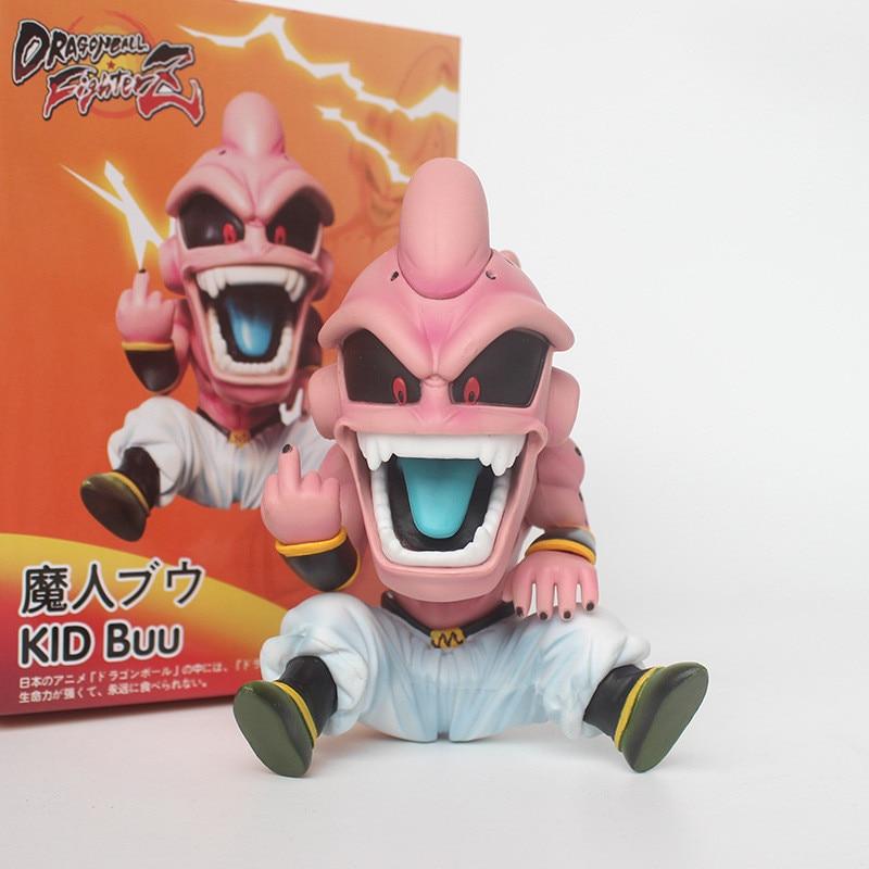 Dragonball Z 12CM Kid Buu PVC Statue New In Stock