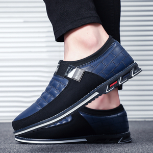 Image 3 - Autumn shoes men casual leather shoes leather high quality comfortable shoes light black shoes   men men casual shoes