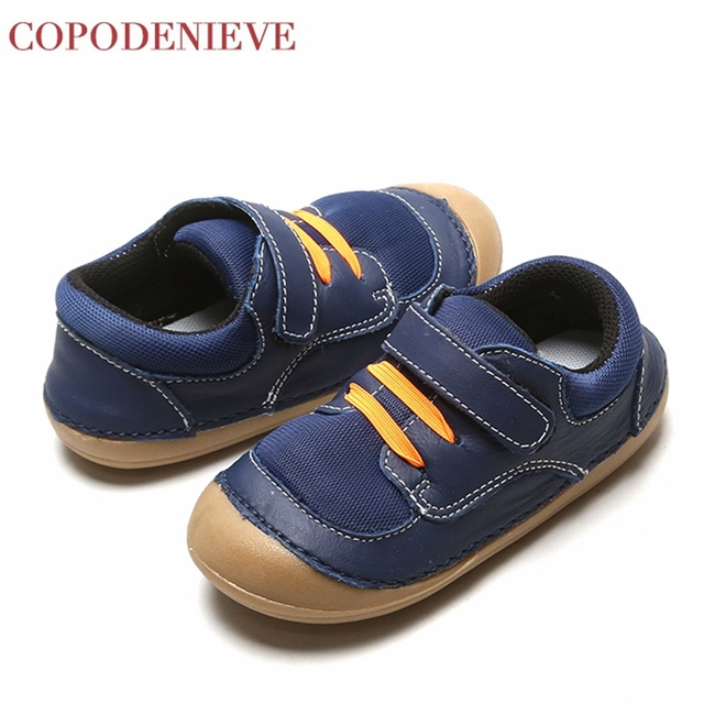 COPODENIEVE Hotsale leather lace up baby shoes Infant Toddler soft soled girls boys moccasins casual First Walkers shoes Spring