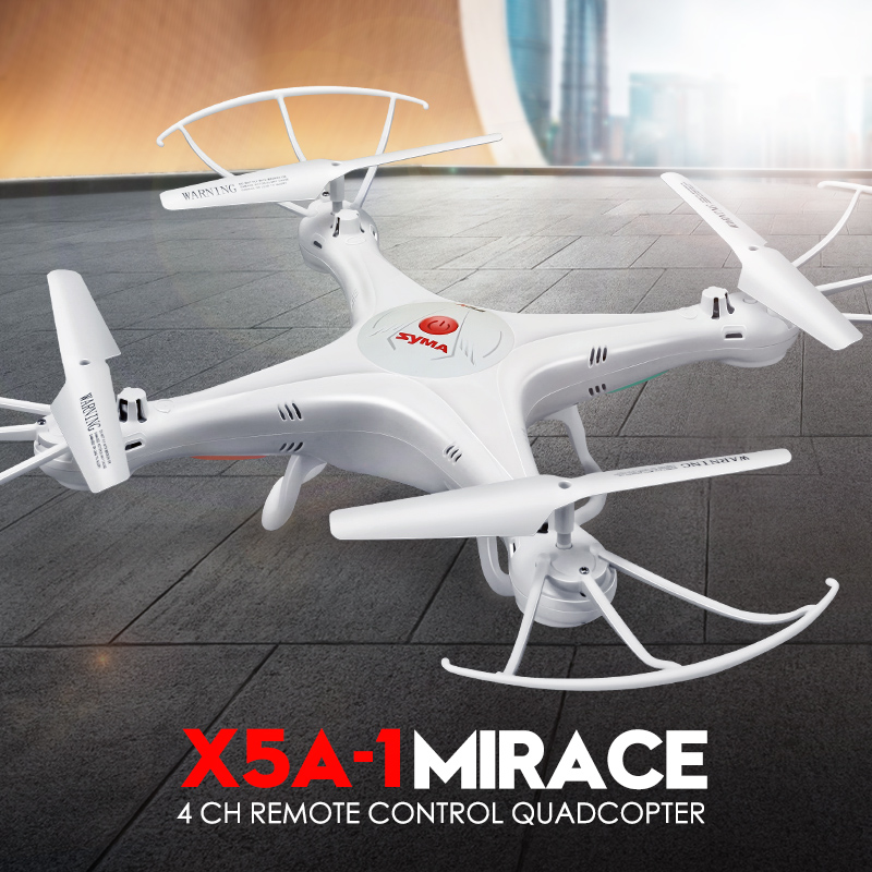 Original Syma X5A Drone 2.4G 4CH RC Helicopter Quadcopter With No Camera Aircraft Dron For Novice Ship 1 / 2 Batteries
