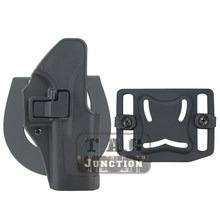 Glock táctico 17 19 22 23 31 32 CQC Serpa ocultación rápida mano paleta de la cintura cinturón de lazo pistola pistolera, funda para arma bolsa