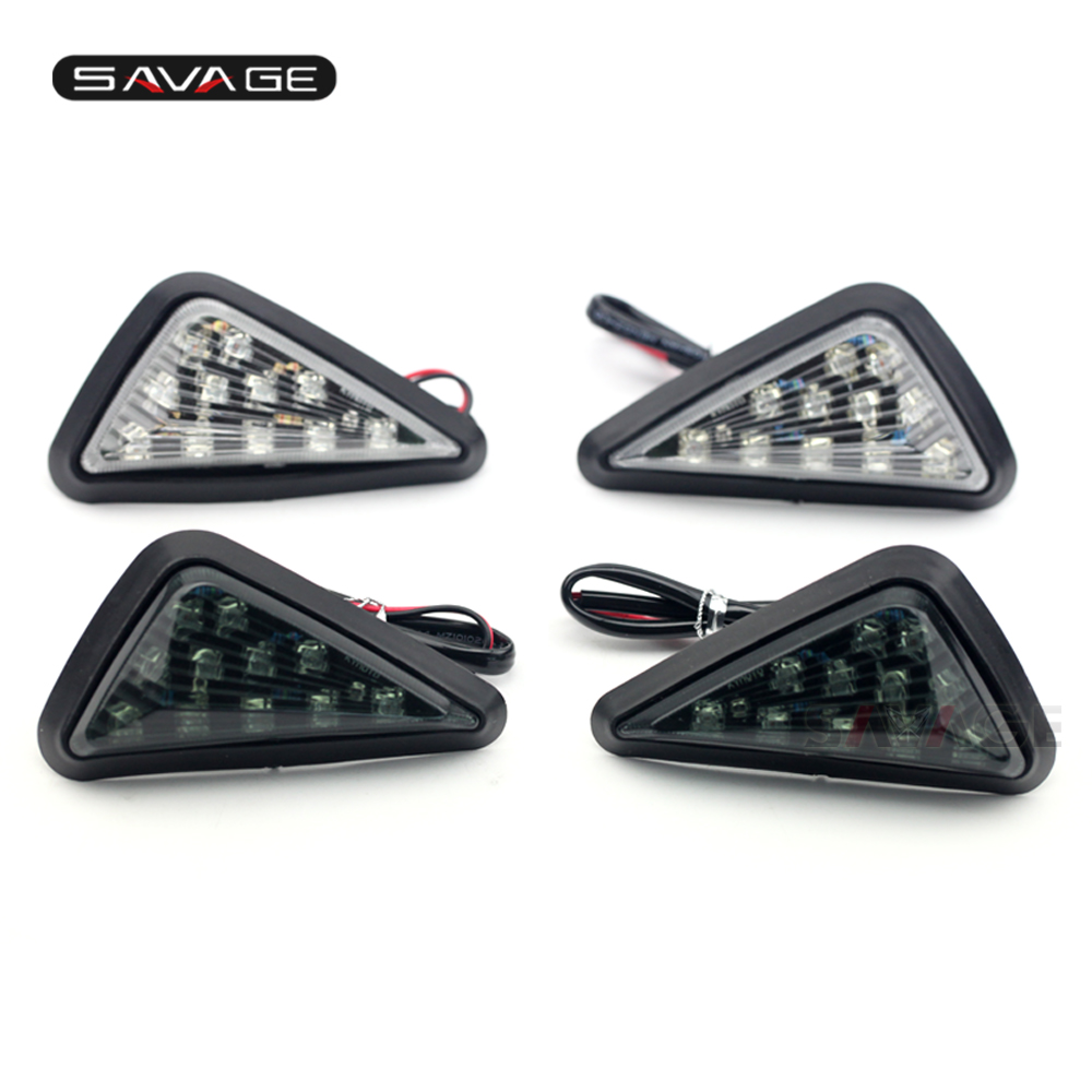 <font><b>LED</b></font> Front Turn Signal Light For <font><b>SUZUKI</b></font> GSX-R 125 150 250 2017-2020 <font><b>GSXR</b></font> 600 <font><b>750</b></font> 1000 01-2005 Motorcycle Indicator Flashing Lamp image