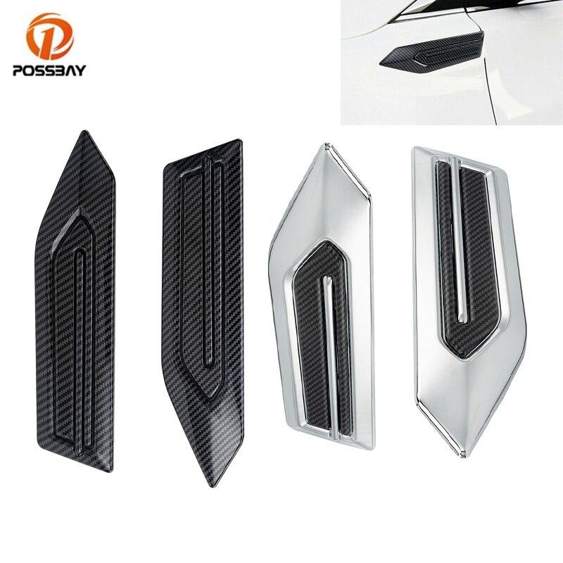 POSSBAY 2 шт./компл. Высокое качество ABS пластиковая наклейка Карбон боковые вентиляционные украшения стикеры автомобильные аксессуары для украшения автомобиля Стайлинг|Наклейки на автомобиль|   | АлиЭкспресс