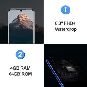 Image 4 - DOOGEE N20 6.3 FHD+ Waterdrop 4GB 64GB Fingerprint Smartphone16MP Triple Back Camera MT6763 Octa Core 4350mAh LTE Mobile phone