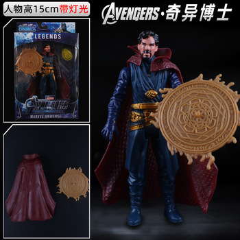 Marvel Avengers:Infinity War Dr.Strange Movable Action Figure Toy Model Superhero Gift Anime Peripheral Furnishing Articals halloween toy gift marvel avengers action figure collection 27cm pa captain america model doll movable decorations