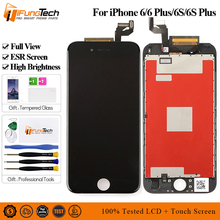 Full View Premium ESR LCD for IPhone 6 6s Display Touch Screen 3D Digitizer 6S Plus AAA Quality No Dead Pixel