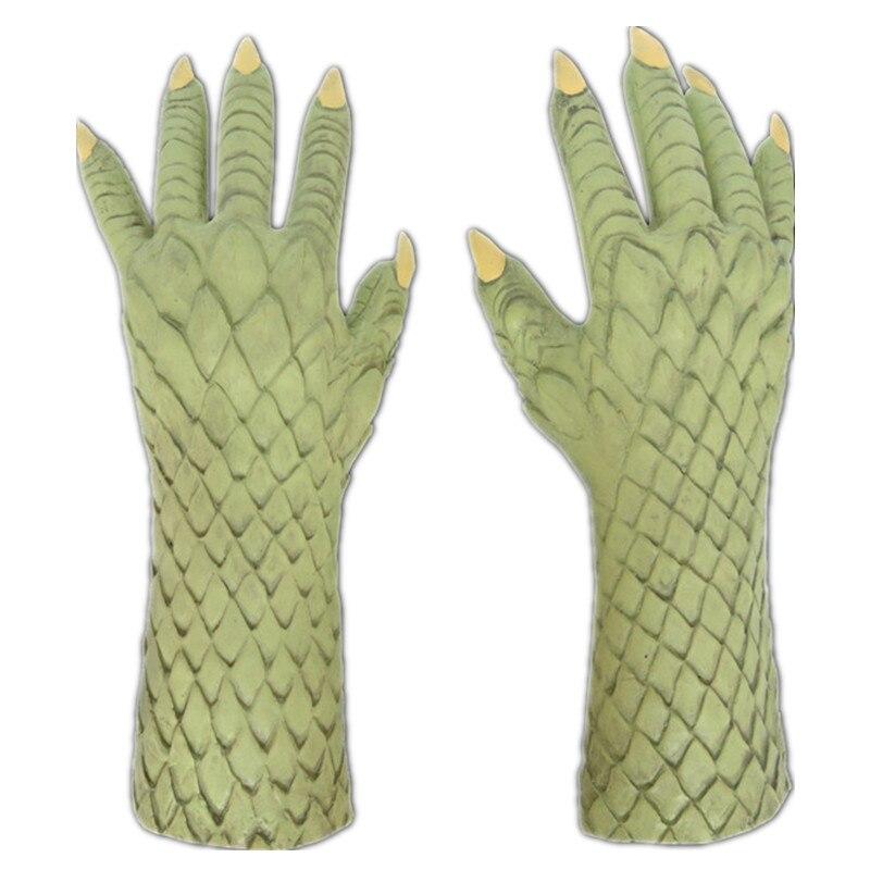 恶魔绿色手套1