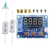 ZB2L3 LED Digital Display Battery Tester 18650 Lithium Battery Test Module Resistance Lead-acid Capacity Discharge Meter 4.5-6V