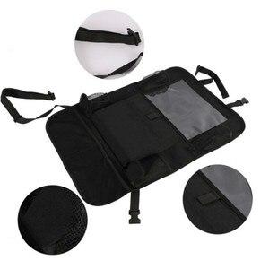 Image 4 - 2021 comodo seggiolino auto Organizer posteriore custodia multi tasca custodia custodia per auto custodia per Tablet supporto per Tablet organizzatore