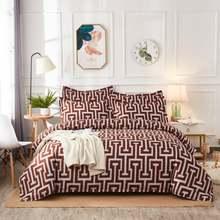 Современные комплекты постельного белья с геометрическим рисунком