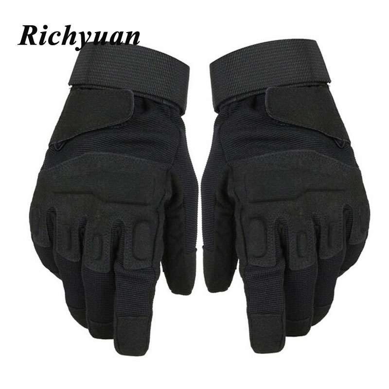 Men's Tactical Gloves Military Army Police Paintball Mittens Outdoor Sport Combat Full Winter Gloves Women Tactical Gloves
