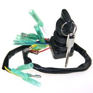 Портативный выключатель зажигания 703-82510-43-00, легко устанавливается на лодку, основные аксессуары, удобный выключатель зажигания для Yamaha, бл...