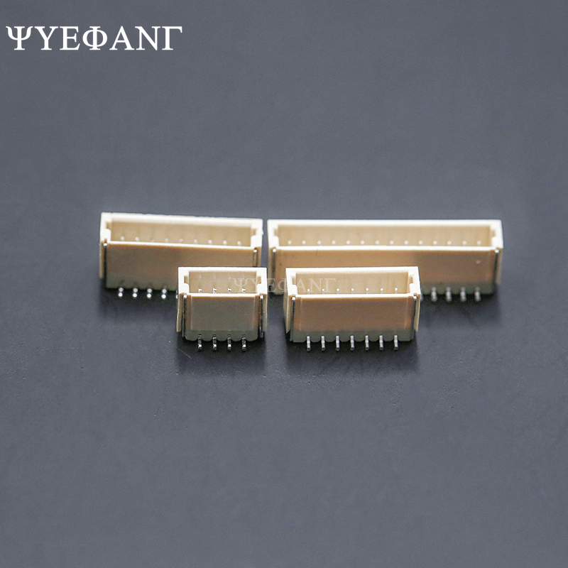 10PCS JST SH 1.0mm Connector Wire-to-Board Type SMD Vertical Socket Receptacle 2P 3P 4P 5P 6P 7P 8P 9P 10Pin