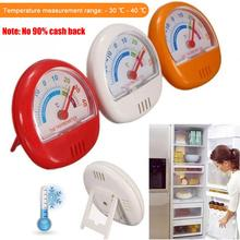 цена на Refrigerator Thermometer Large Dial Thermometer Indoor and Outdoor Mini Thermometer Refrigeration Temperature Gauge Home use
