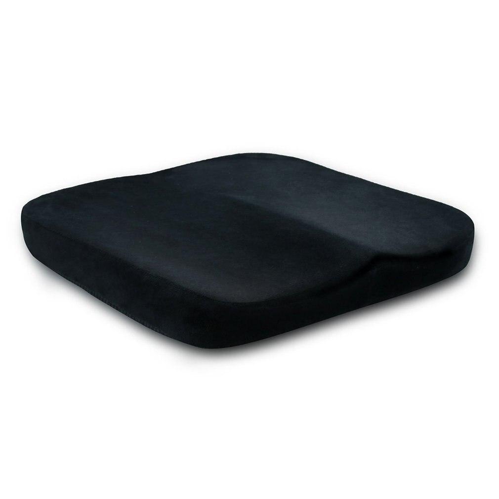 OUTAD Comfortable Flat Cushion Hip Pad Anti Hemorrhoids Memory Foam Home Office Car Chair Seat Cushion  Drop Shipping
