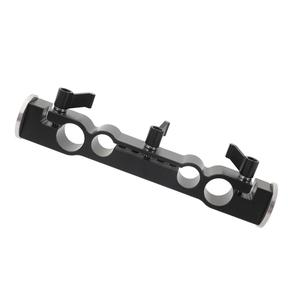 Image 5 - Kayulin 15mm & 19mm Dual port Rod Clamp With Double Ended M6 ARRI Style Rosette Mount for camera support rig kit
