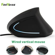 Vertical Ergonomic Gaming Mouse USB Wired Gamer Mause For PC Laptop Computer Notebook Kit Cable Optical Magic Logitech Mouse