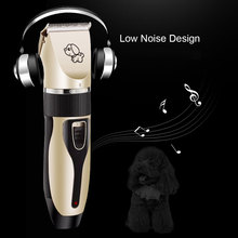 Brand New Pet Hair Remover Dog Hair Trimmer  Cutter Grooming Cat Electrical Pet Clipper Rechargeable Low-Noise Hair Cut Machine стоимость