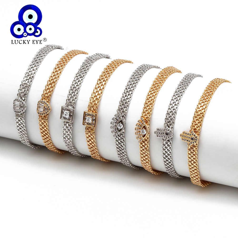 Hamsa Bracelets ~ Hamsa Hand /& Evil Eye bracelet