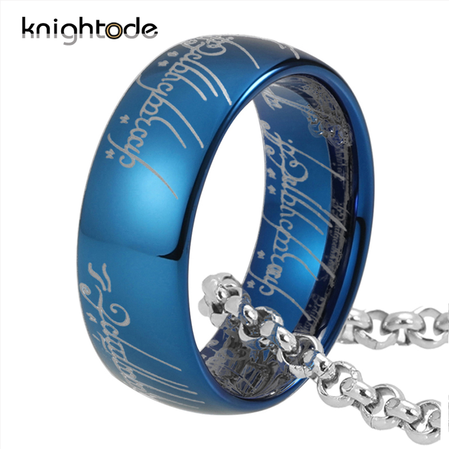 High Quality 6mm 8mm Tungsten Carbide Rings For Men Women Top Gold/Rose Gold/Black/Blue Plated And Regular Engraving Dome Band 5