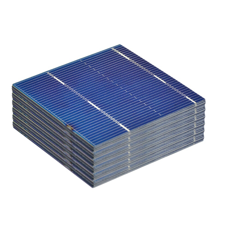ABKT-100Pcs 52x52Mm 0.5V 0.43W <font><b>Solar</b></font> <font><b>Panel</b></font> Diy <font><b>Solar</b></font> Cell Battery Charger image