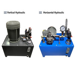Hydraulic System Hydraulic Station Small Hydraulic Unit Hydraulic Cylinder VP20 + 0.75KW / 1.5KW Hydraulic Pump Station