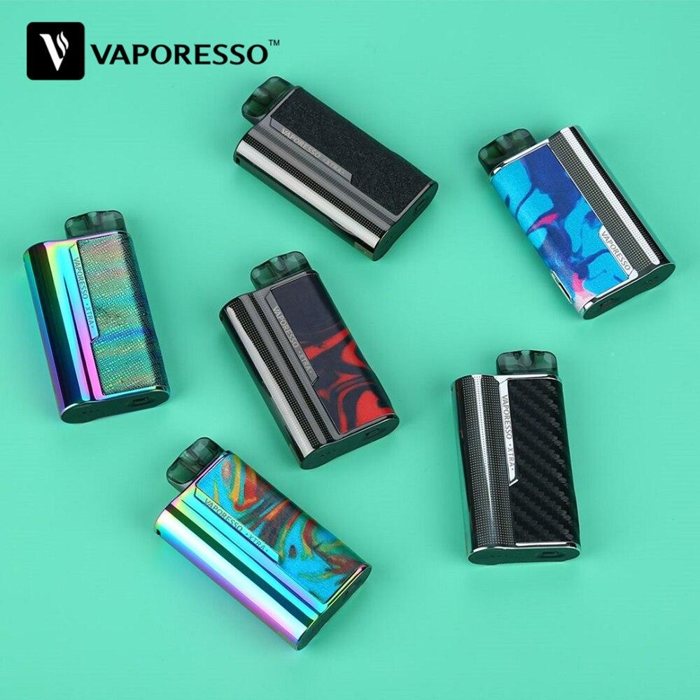 Original Vaporesso XTRA Pod Kit With 900mAh Battery & 2ml Pod System & 0.8ohm/1.2ohm Coil Mod Pod Kit Vs Renova Zero/ Targe PM80
