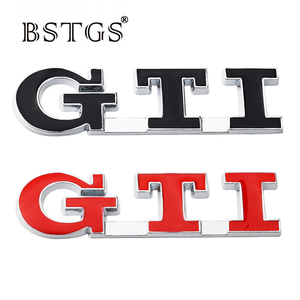 Metal 3D Car Stickers For Volkswagen Polo Golf 3 4 5 6 7 GTI Modified Auto Accessories Emblem Badge Decal Car Sticker