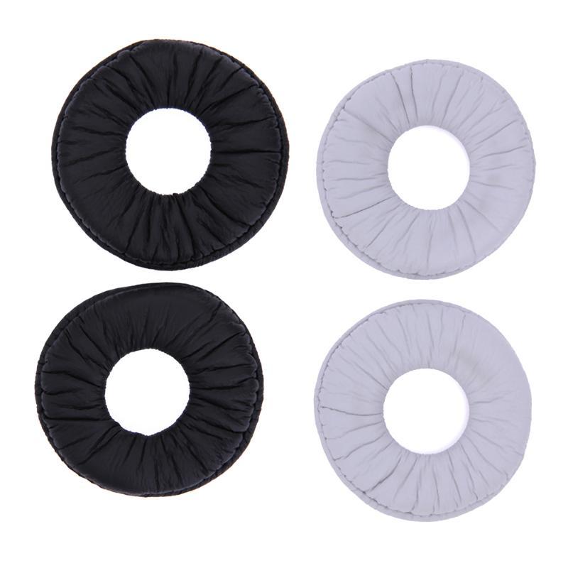 ALLOYSEED 2 шт. 70 мм мягкие поролоновые кожаные Сменные амбушюры для наушников Sony MDR-ZX100 ZX300 V150 V300 амбушюры для наушников