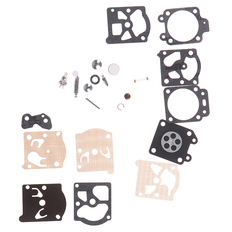 1Set New Carb Carburetor Diaphragm Gasket Needle Repair Kit Chainsaw