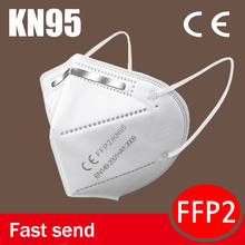 MASK-FILTER Respirator Face-Mask Mascarillas FFP2 KN95 Protective Anti-Dust Safety Breathable