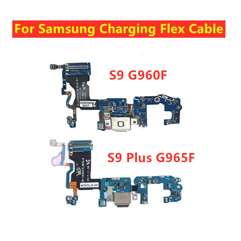USB Charger Charging Dock Port Connector Flex Cable For Samsung Galaxy S9 G960F S9 Plus G965F Repair Parts