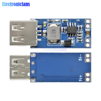 DC-DC 9V/12V/24V to 5V USB Step Down Power Module 2A Precise Vehicle Charger Buck Regulator Power Supply Module image