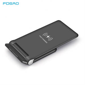 FDGAO 15W Qi Wireless Charger Quick Charge 3.0 USB C Fast Charging for iPhone 11 Pro XS XR 8 X Samsung S9 S10 10W Fold Stand Pad