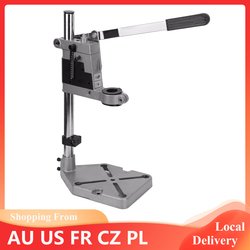 Drill Press Stand Base Drill Press Stand Clamp Adjustable Fixed Sleeves Drill Press Stand Clamp Power Tools Accessories