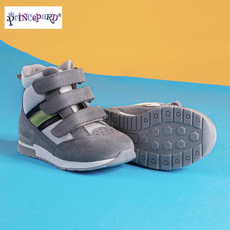 Princepard çocuk ortopedik ayakkabılar ayarlanabilir askı düzeltici rahat ayakkabılar ayak bileği desteği ile bakım çocuklar için erkek kız